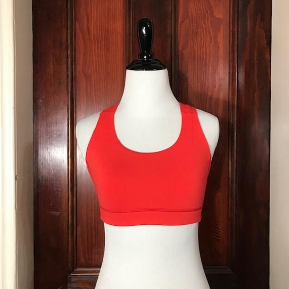 69399c2d65 lululemon athletica Other - Lululemon orange criss cross back sports bra